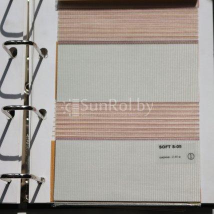 Рулонные шторы День-Ночь Soft S-05