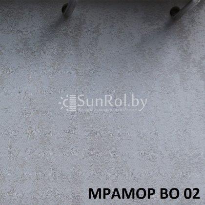 Рулонные шторы Блэкаут Мрамор BO 02