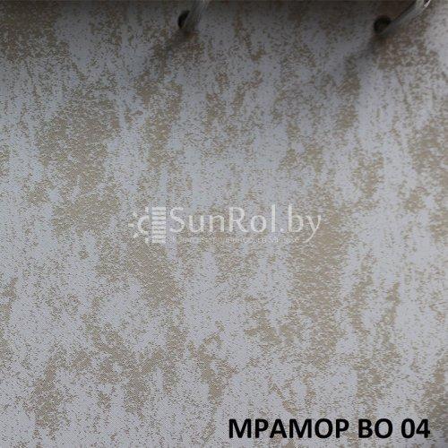 Рулонные шторы Блэкаут Мрамор BO 04