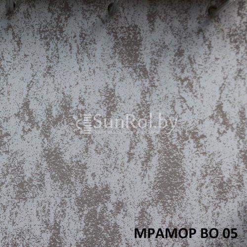 Рулонные шторы Блэкаут Мрамор BO 05
